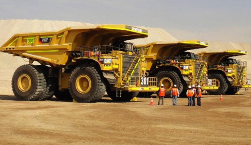 3 Camiones Dumper