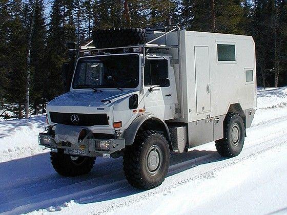 Camion Mercedes todo terreno