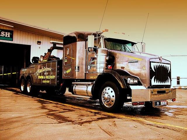 Camion con dientes