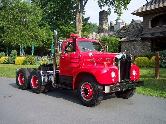 Camion rojo Vintage