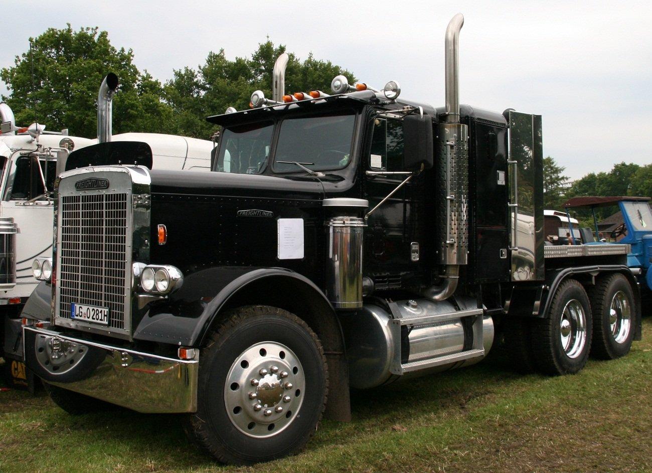 Cabina camion Negro