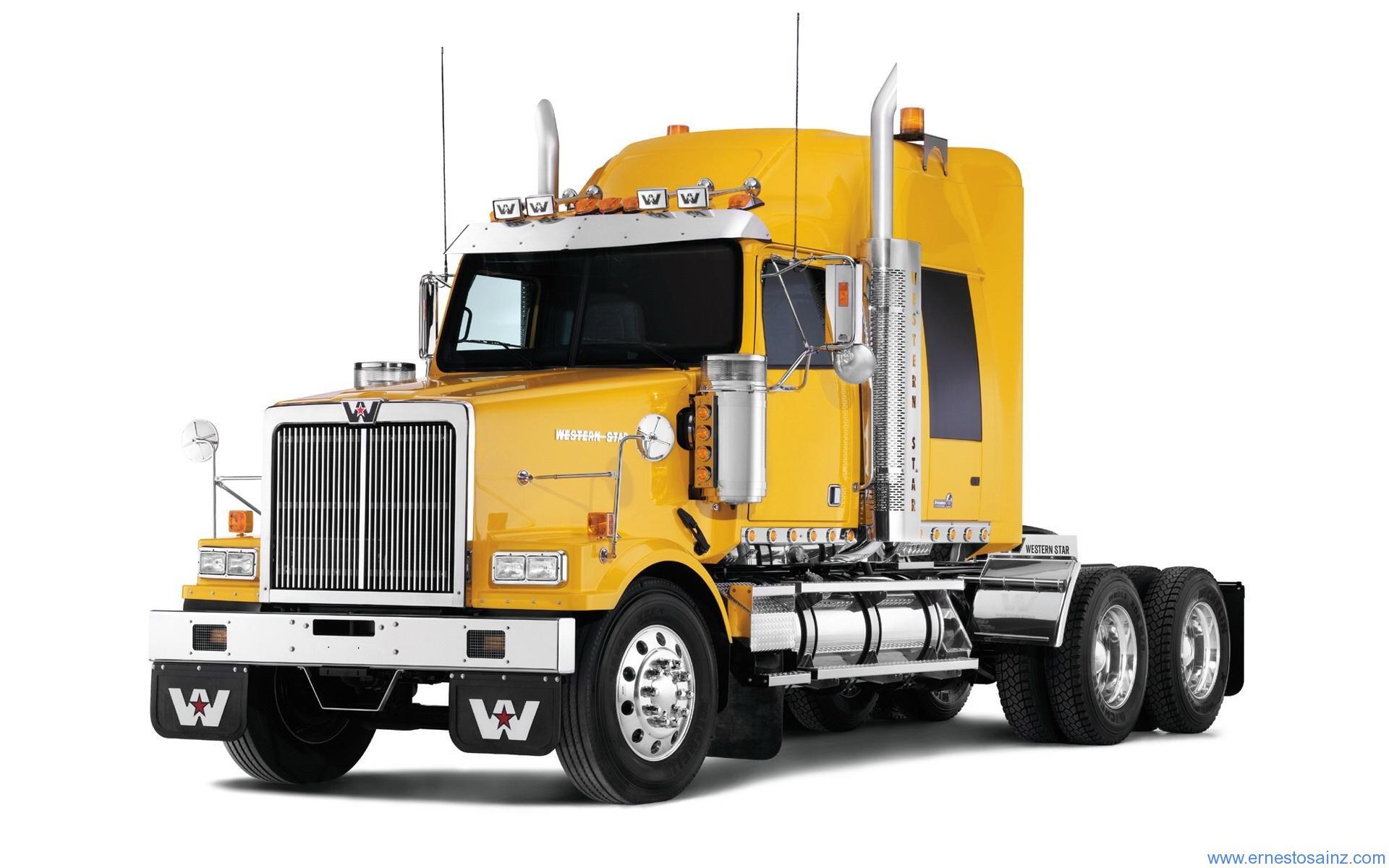 camion western amarillo. Black Bedroom Furniture Sets. Home Design Ideas