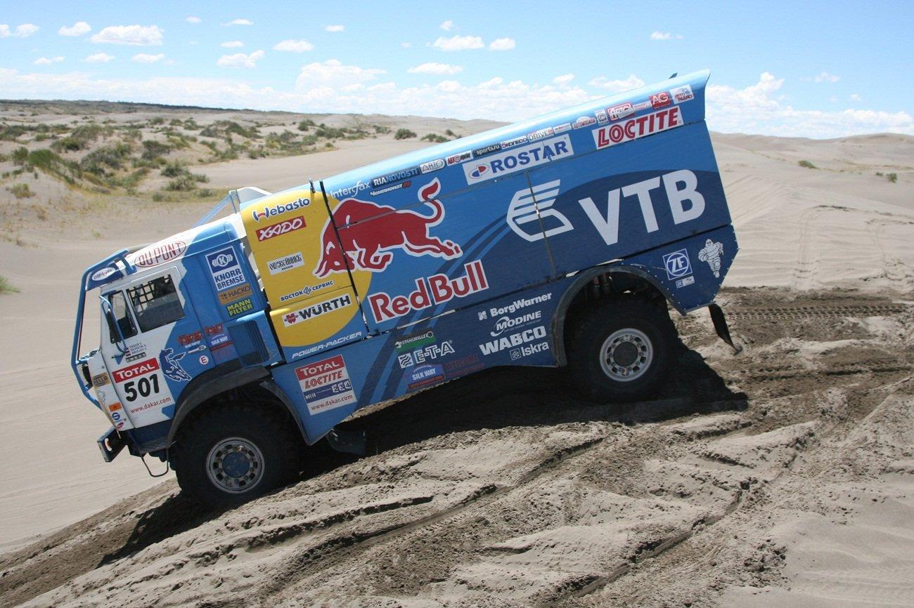 Camiones del Dakar