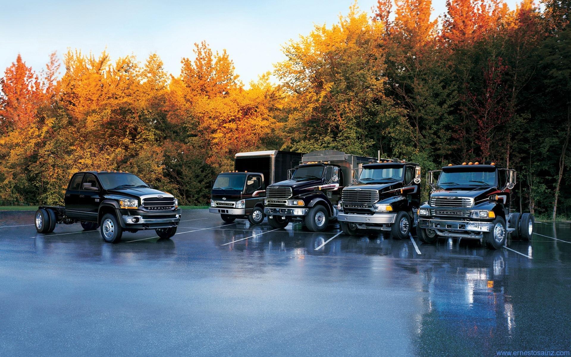 Gama de camiones Sterlings negros