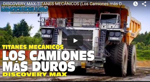 Discovery Max Titanes Mecanicos