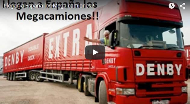 Llegan a España los Mega camiones