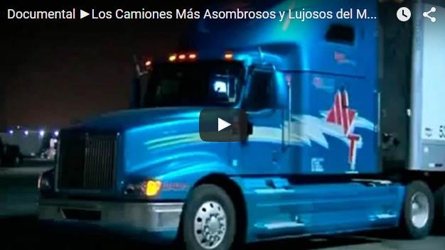 Los Camiones Más Asombrosos y Lujosos del Mundo