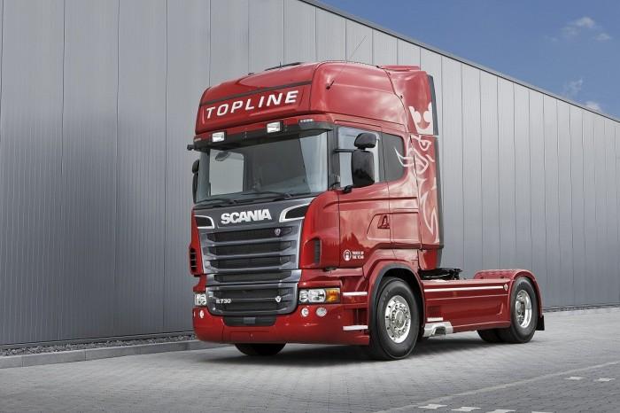 camion-scania-rojo