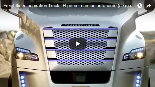 El primer camión autónomo
