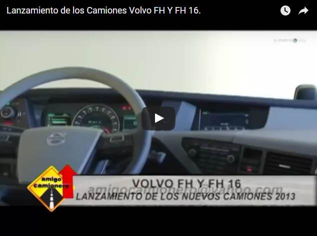 Lanzamiento de los Camiones Volvo FH Y FH 16