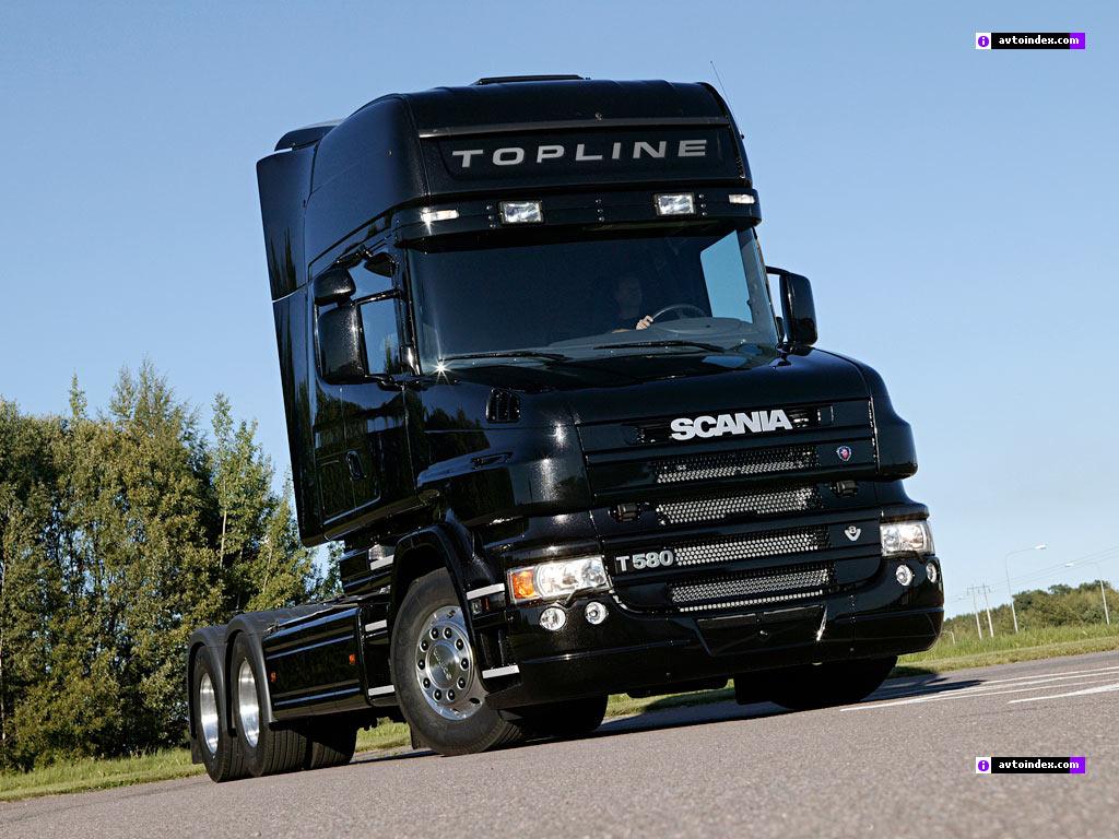 Scania T580 negro