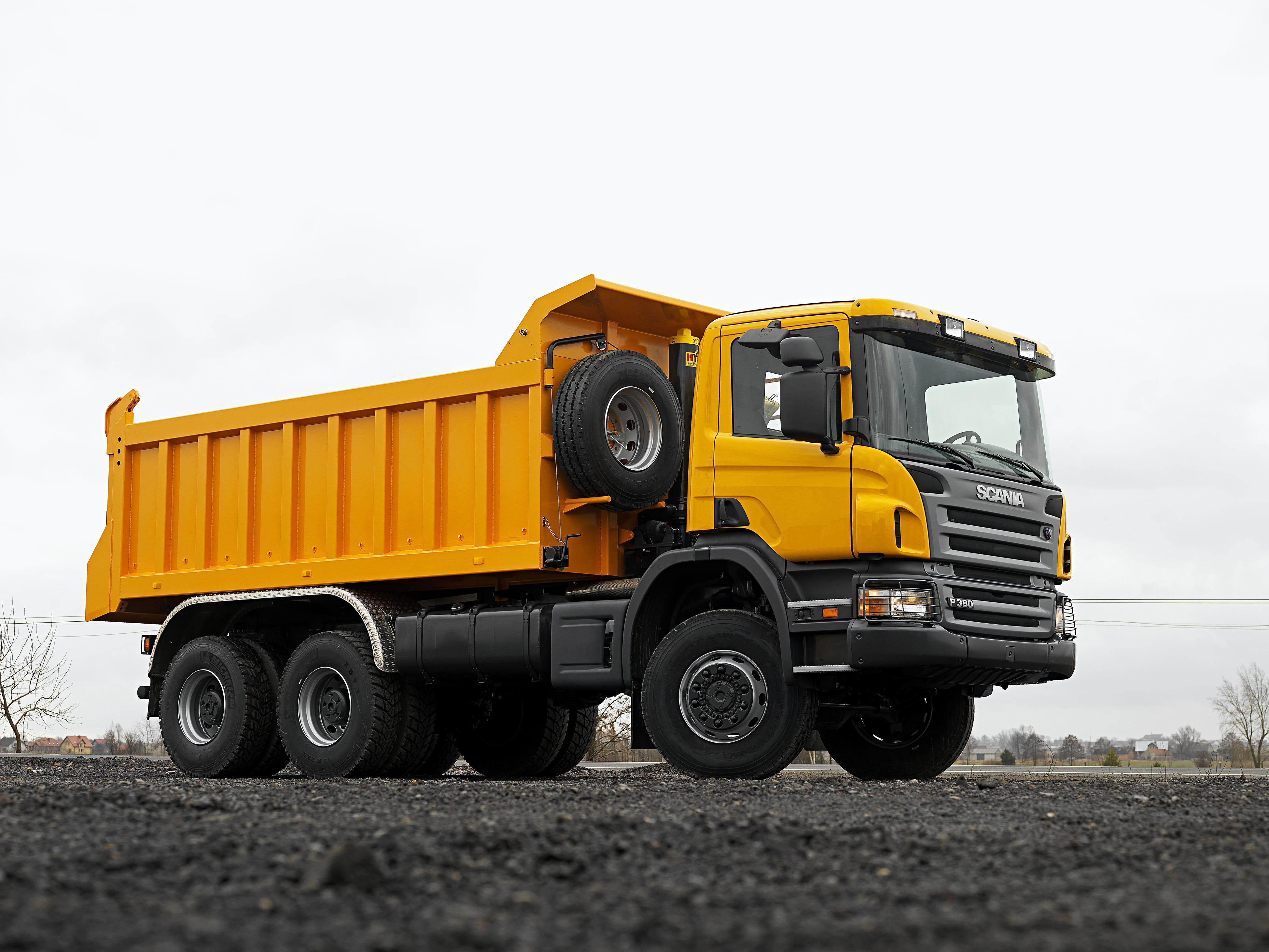 Scania Amarillo