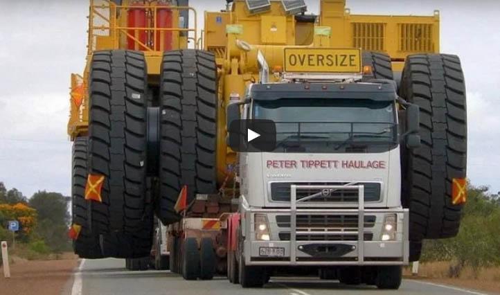 Documental Camiones Gigantes