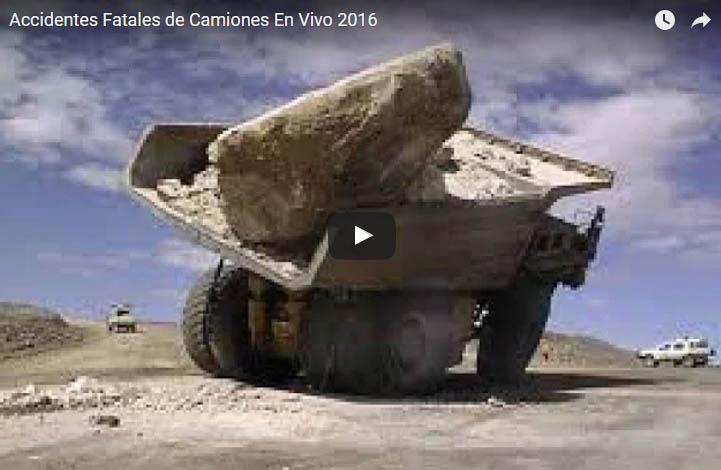 Accidentes Fatales de Camiones En Vivo 2016