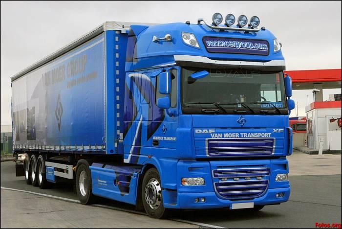 Daf 99 XF azul