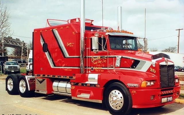 Kenworth Rojo