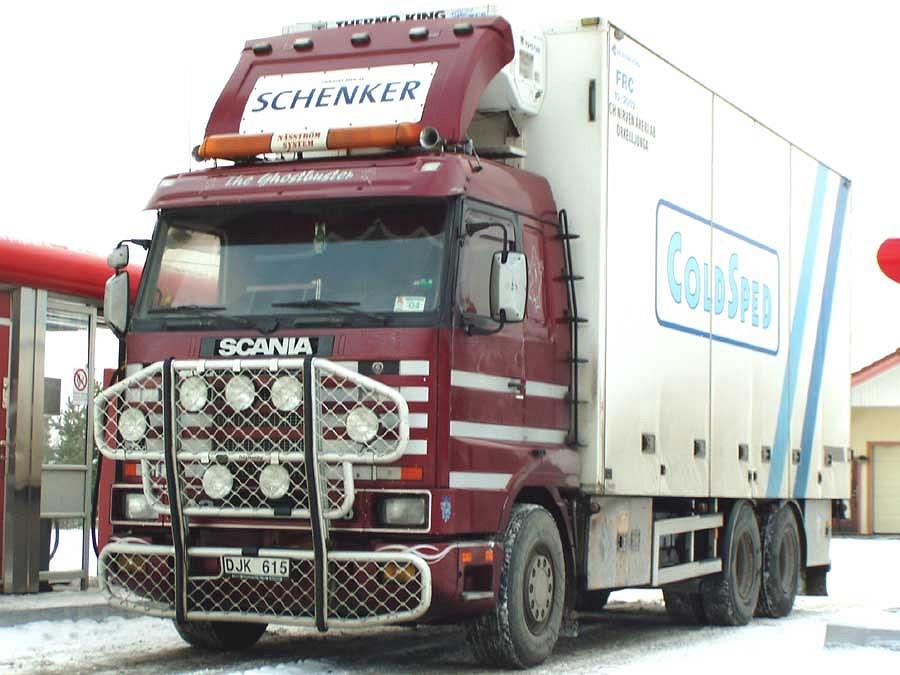 Scania de transporte bordo