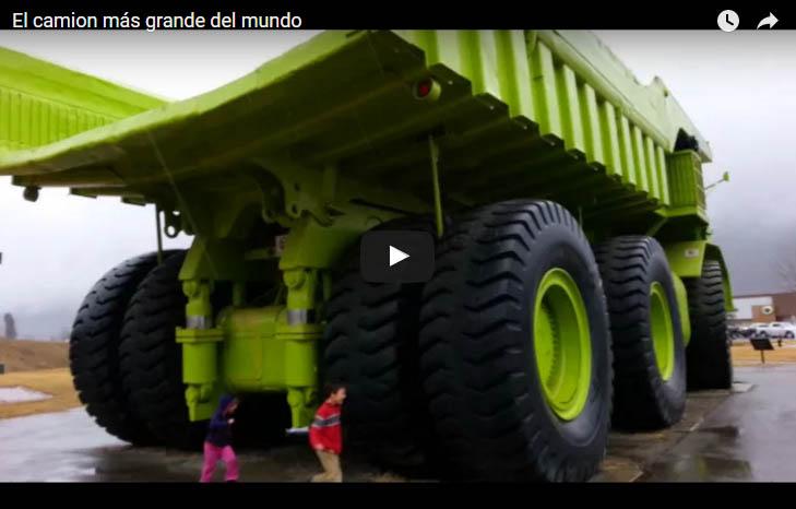 El camion más grande del mundo