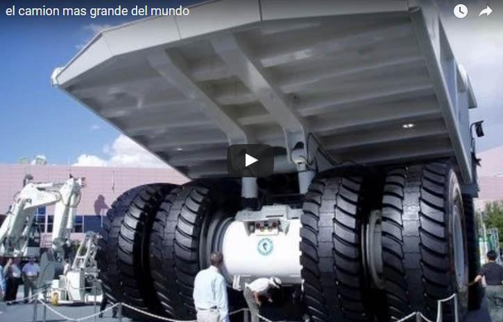 Fotos de los camiones mas grande del mundo