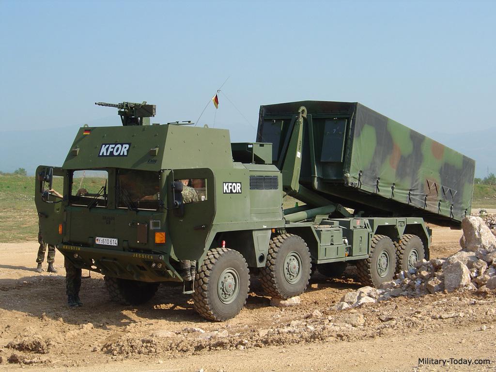 Camion militar Man SX45 L3