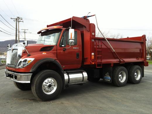 Camion WorkStar Rojo