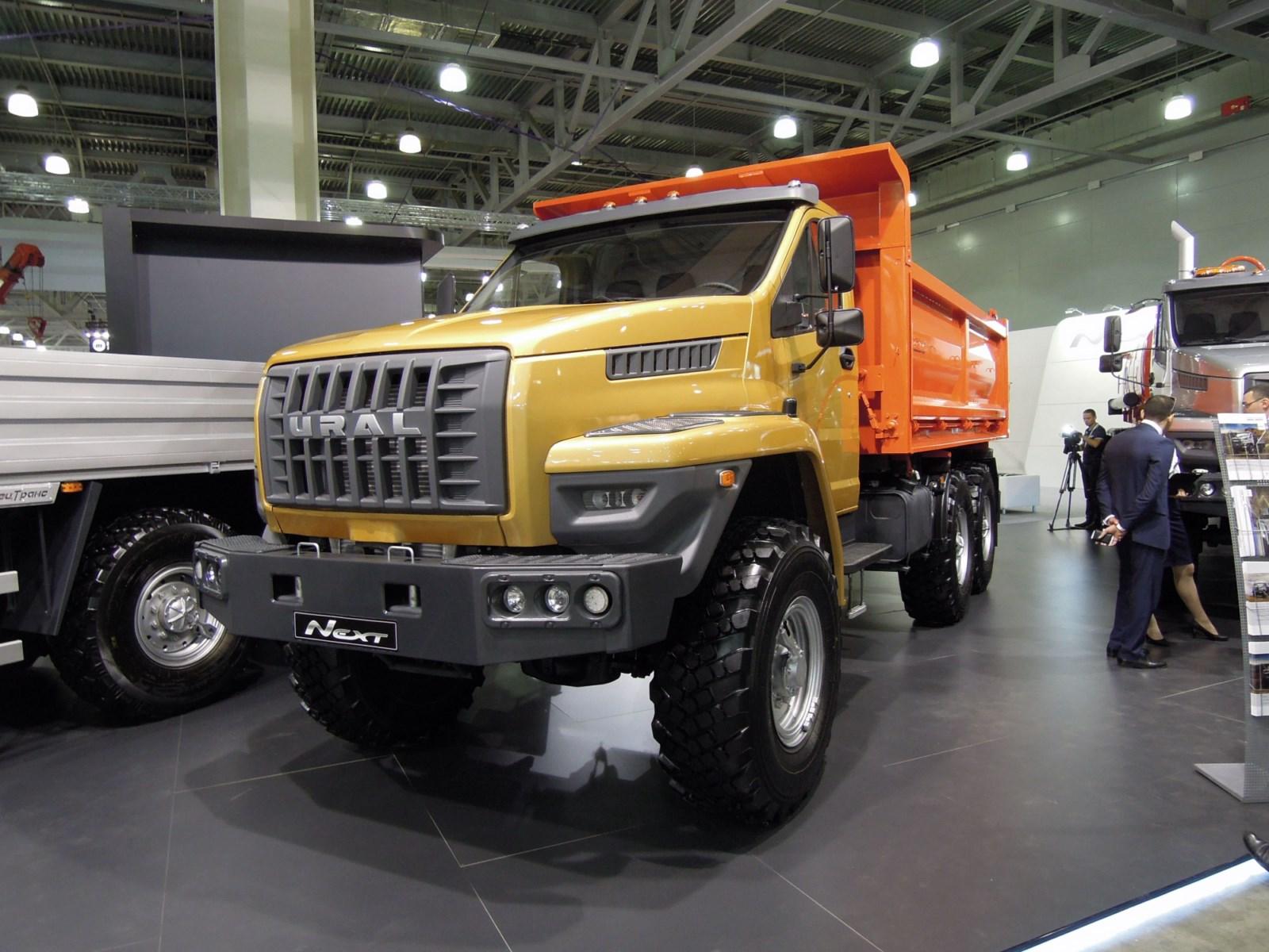 Camion Ural Next Gaz de carga