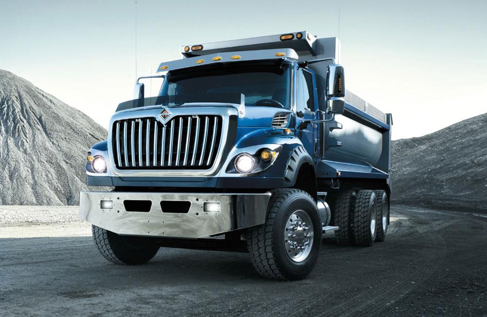 Camion WorkStar Azul