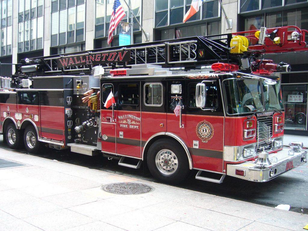 Camion bombero Americano