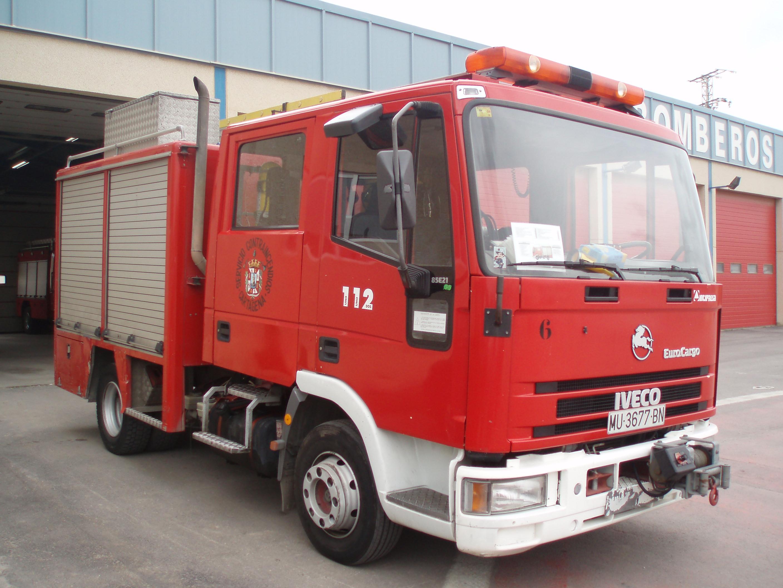 Camion bombero Iveco