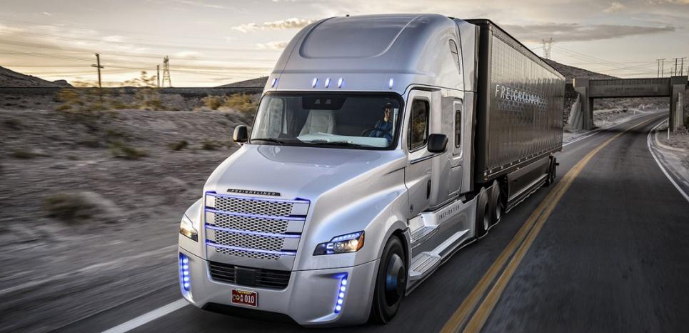 Camion Futurista Freightliner