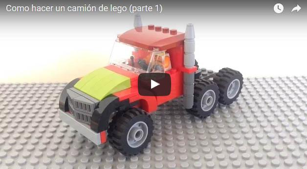 Como hacer un camión de lego 1