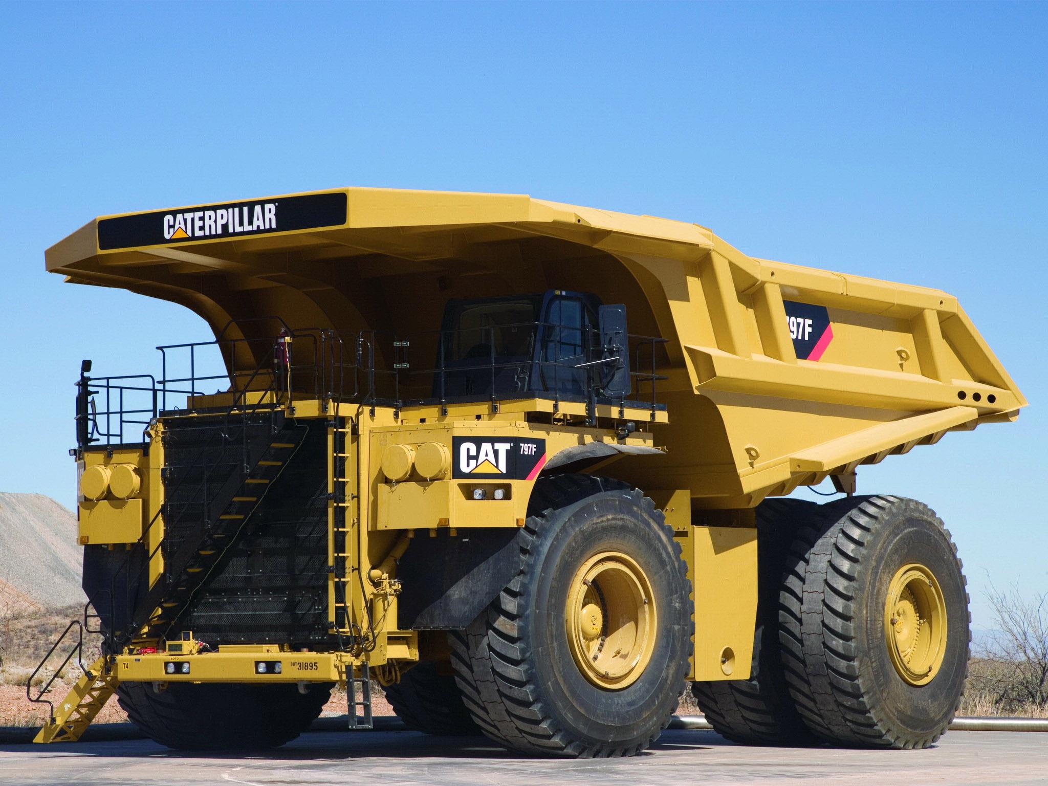 Camion Caterpillar 797F R1