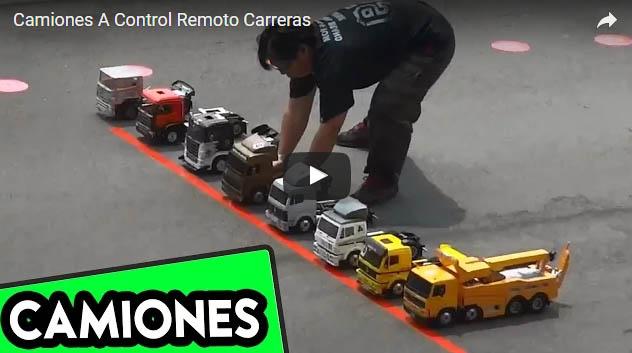 Camiones a Control Remoto Carreras RC