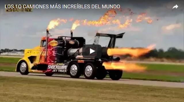 Los 10 camiones mas increibles del Mundo