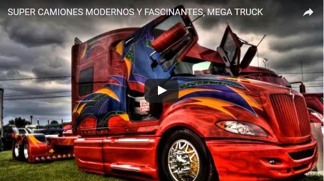 Super camiones modernos y fascinantes