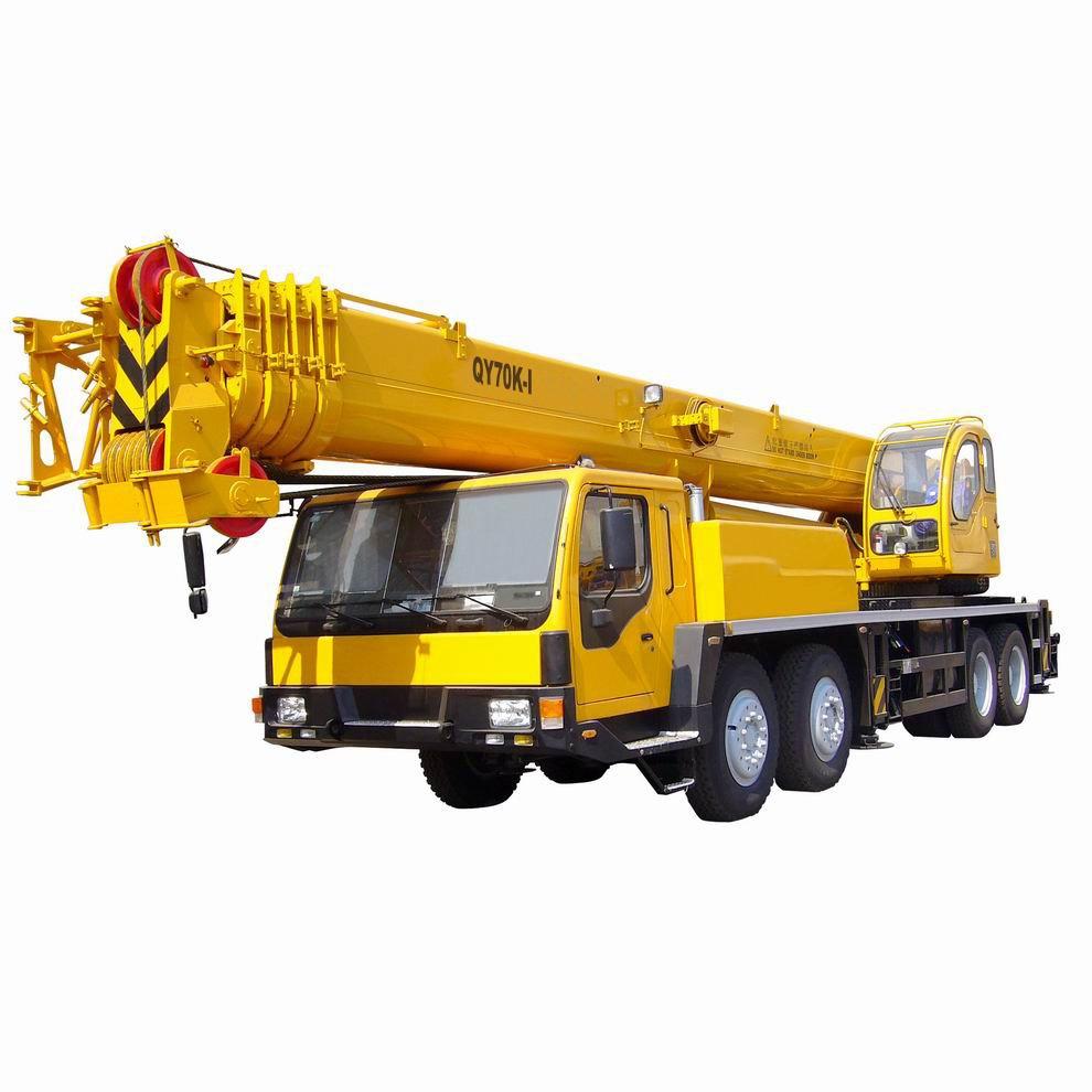 Grua sobre camion Iron QY70