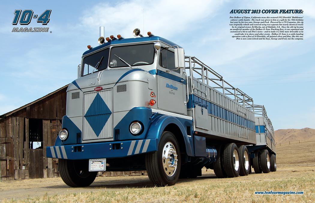 Camion Peterbilt Antiguo