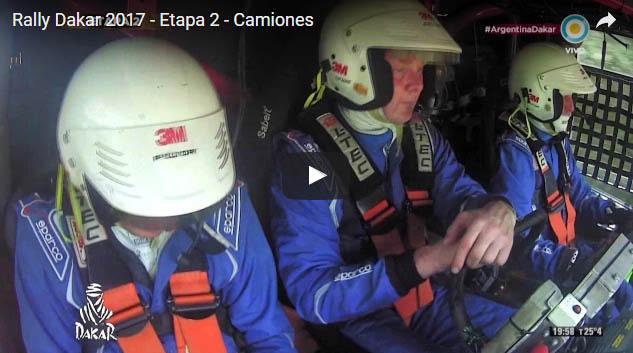 Rally Dakar 2017  Etapa 2  Camiones