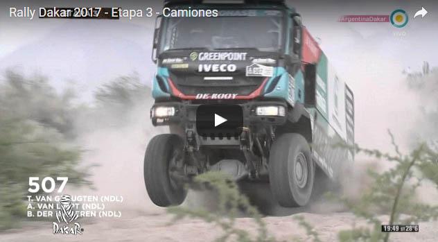 Rally Dakar 2017  Etapa 3  Camiones
