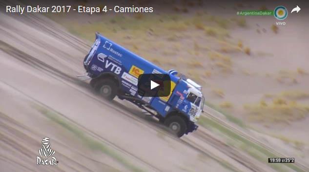 Rally Dakar 2017  Etapa 4  Camiones