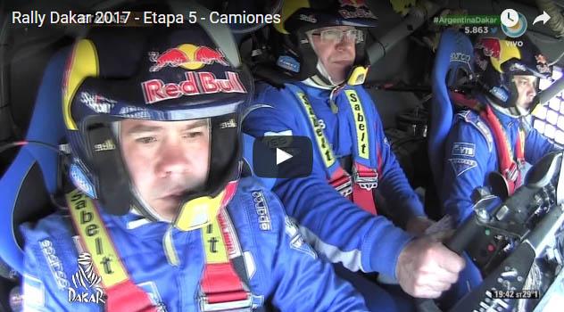 Rally Dakar 2017  Etapa 5  Camiones