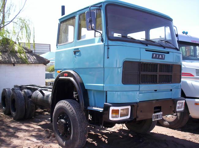 Camion Fiat Azul