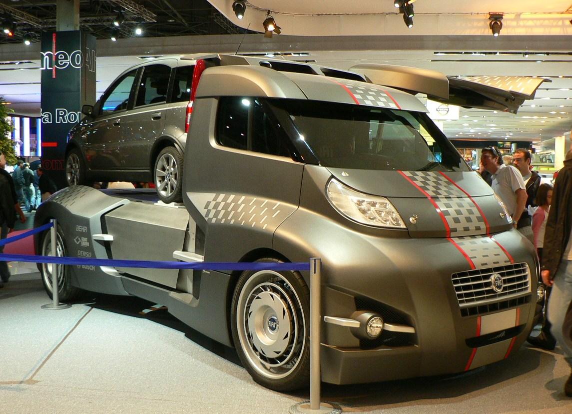 Camion Fiat Moderno