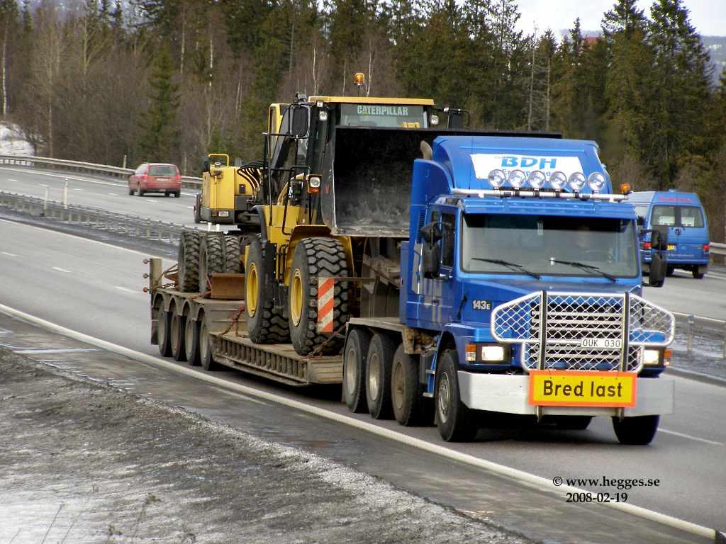 Camion Scania 143E