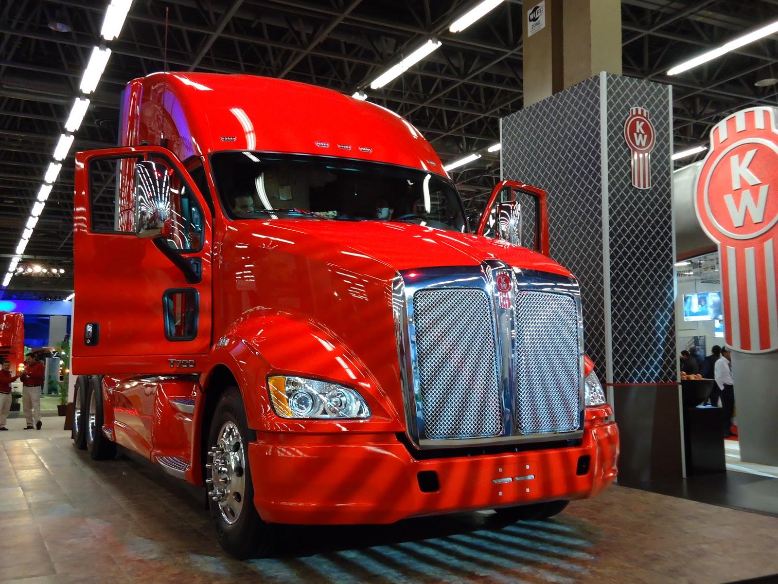 Camion KW rojo