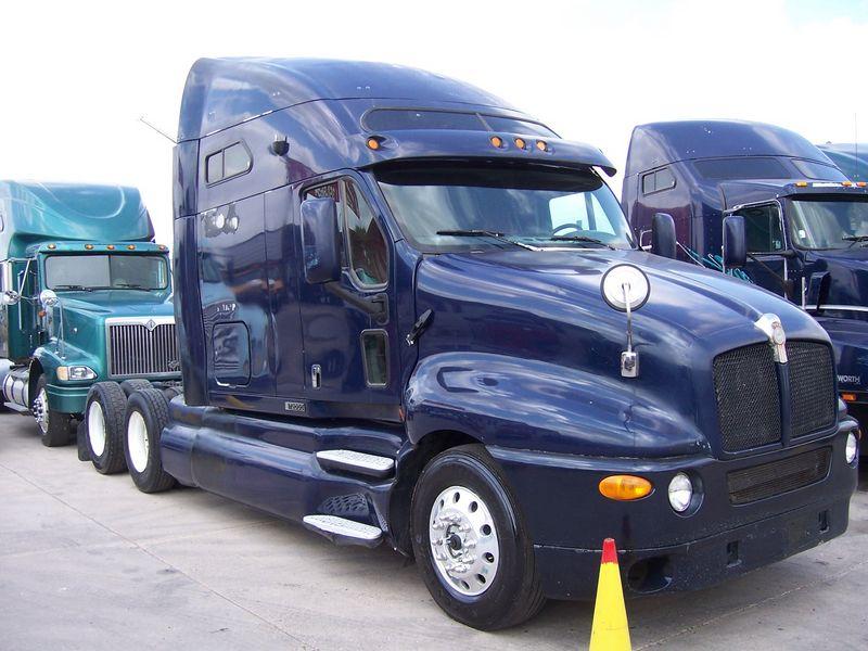 Camion Azul Marino