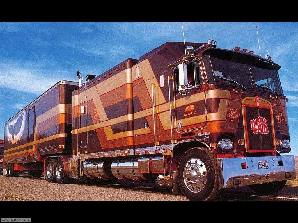 Camion Kenworth Tuneado en marron
