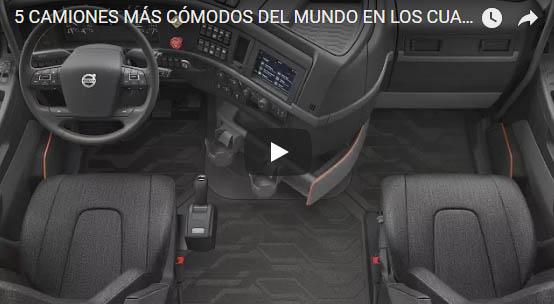 5 Camiones mas cómodos del Mundo