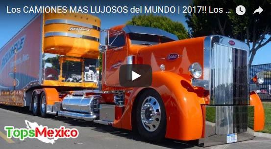 Los Camiones mas Lujosos del Mundo 2017