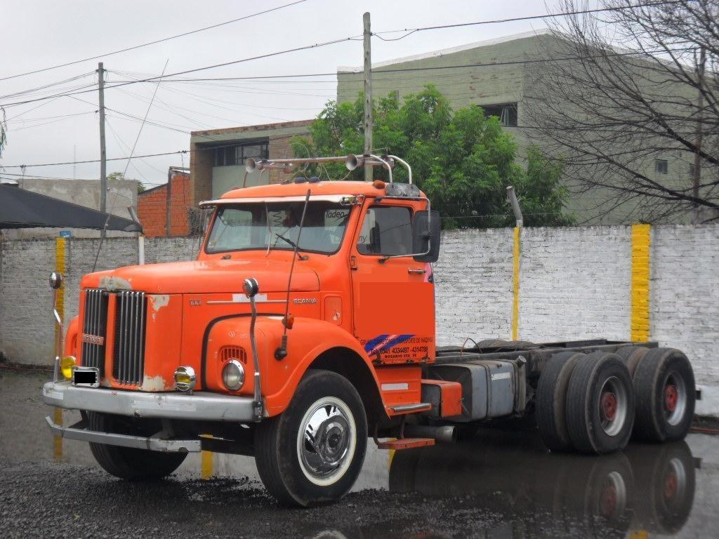 Antiguo Scania L 111 6×4
